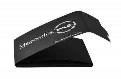 компактная картонная упаковка для пластиковой карты