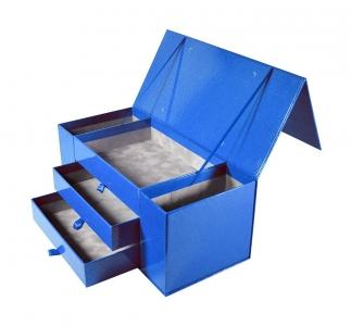 Эксклюзивная коробка с 5ю отсеками и магнитной крышкой