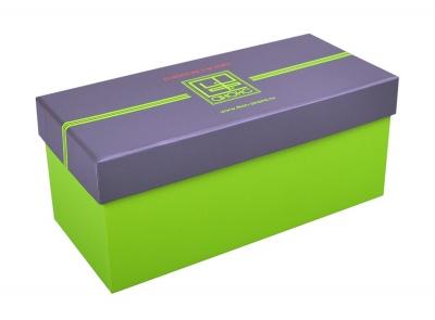 Кашированная коробка крышка-дно для образцов пластика