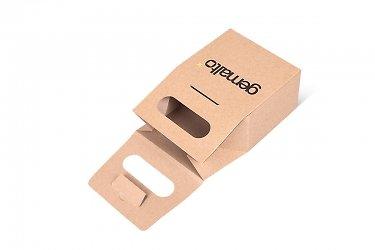 дизайнерские пакеты из картона