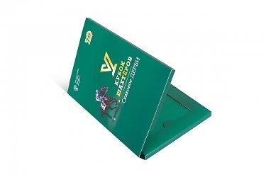 подарочная упаковка из картона для карт