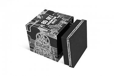 подарочные упаковки с логотипом кружка дно