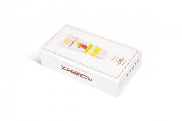 картонная упаковка с логотипом для косметики