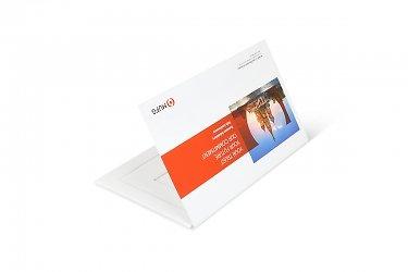 презентационная папка из кашированного картона