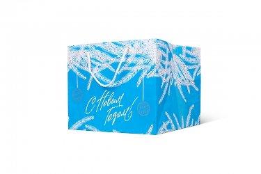 упаковка корпоративных подарков на новый год
