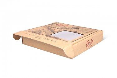 современная упаковка картонный самолет