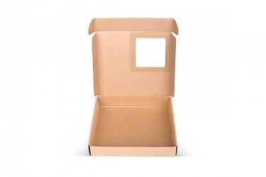 современная упаковка с окошком