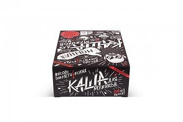 картонная упаковка с логотипом большим тиражом