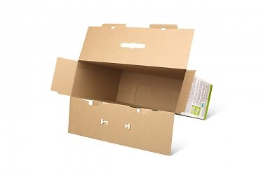 картонная упаковка с логотипом для вашей продукции
