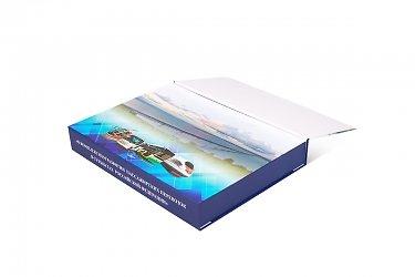 коробка портфель для бизнес подарка