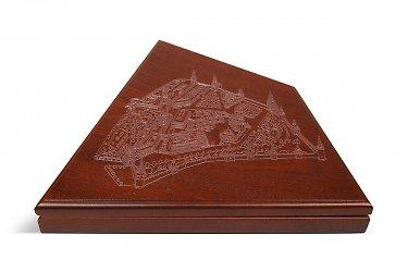 элитные коробки деревянные