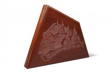 коробки деревянные с гравировкой