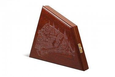 коробки деревянные для корпоративного подарка