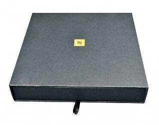 Промоупаковка  с  картонным ложементом — коробка лого