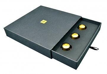 Фирменная кашированная упаковка коробка-пенал с ложементом