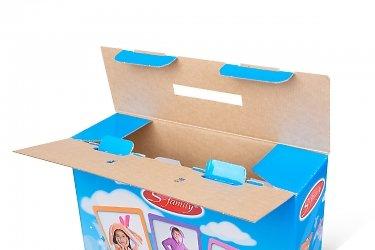 коробка самосборная большим тиражом