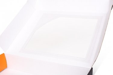 изготовление коробочек с окошком