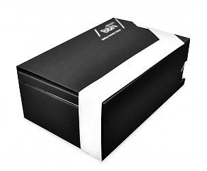 Индивидуальная упаковка-слайдер из дизайнерских материалов