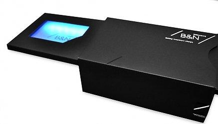 Фирменная коробка-слайдер с подсветкой