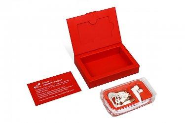картонная подарочная упаковка с ложементом