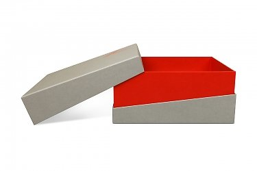дизайнерская коробка со скошенной крышкой