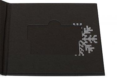 кардпак из дизайнерского картона