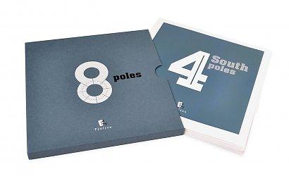 Дизайнерский футляр для двух буклетов