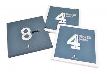 Дизайнерский слипкейс для двух буклетов — упаковка дизайнерская