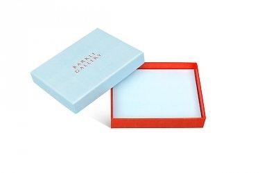 подарочная коробка на заказ с тиснением