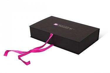 подарочные коробочки на заказ с лентой