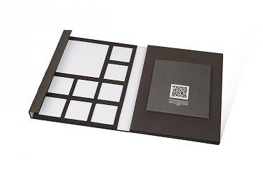Папка под образцы стекол в Москве – производство на заказ