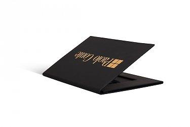 вип упаковка из дизайнерской бумаги