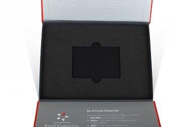 упаковка для пластиковых карт разработка и производство