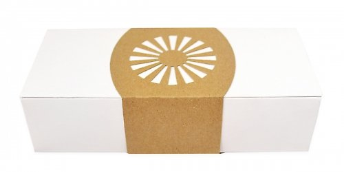 Фирменная коробочка с двойными бортами с изящной обечайкой