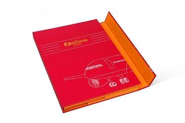 упаковка под заказ кашированная папка