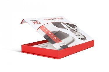 коробки с ложементом офсетная печать