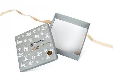 изготовление коробок с логотипом крышка-дно