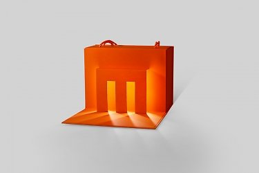 картонная упаковка с логотипом и подсветкой