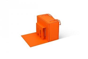 картонная упаковка с логотипом дизайн и производство