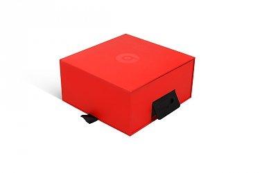 заказать упаковку с логотипом из переплетного картона