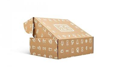 коробка самосборная заказать в Москве