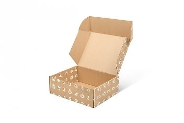 коробка самосборная коробка-самолет