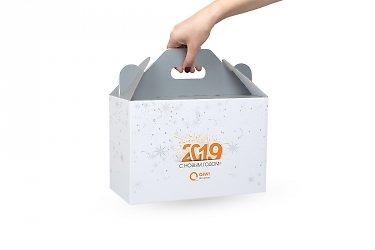 дизайнерские пакеты с запечатанным картоном