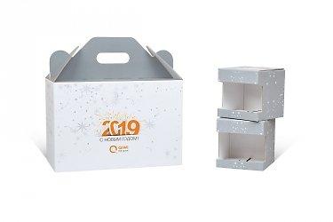 дизайнерские пакеты и коробки