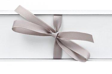 книга коробка с репсовой лентой