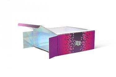 современная упаковка - коробка ласточкин хвост