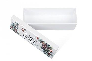 изготовление подарочных коробок на заказ с полноцветной печатью