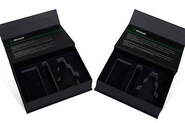 коробки на заказ - ложемент с фигурной вырубкой