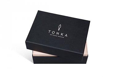 кашированная подарочная коробка с ложементом