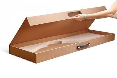 Коробка с ручкой под ружье